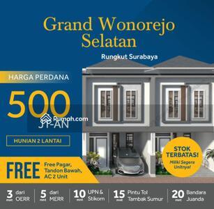 Dijual - Rumah TERMURAH & STRATEGIS Hanya 500 Jutaan Lokasi Rungkut Surabaya Timur dekat UPN , MERR, Juanda