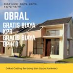 Dekat Gading & Lippo Krwci, Grtis KPR, Bphtb