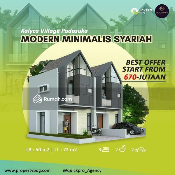 Kalyca Village Padasuka Jl Pasirlayung Padasuka Bandung Cibeunying Kidul Bandung Jawa Barat 3 Kamar Tidur 50 M Rumah Dijual Oleh Rahmat Hermawan Rp 677 Jt 17714559