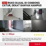 Ruko Dijual Concat | 0817431389