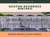 Dijual - Rumah Baru di Bintaro 600jtan Free AC 1 unit , Boston Residence Ciputat