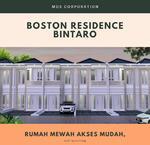 Rumah Baru di Bintaro 600jtan Free AC 1 unit , Boston Residence Ciputat