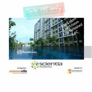 Dijual - Dijual Apartemen kamar tidur 2 Scientia Residence, gading serpong
