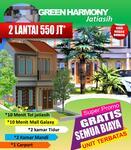 Rumah di Jatiasih Bekasi 550 Jt Termurah 2 Lantai
