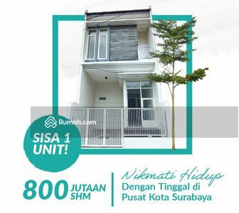 Dijual - Rumah 2 Lantai Dekat UNAIR SHM IMB, Lokasi Pucang Adi Gubeng Kertajaya Inhouse Tanpa BANK