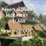 Resort river view di Ubud, Hideaway Village