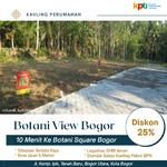 Tanah Kapling Perum Bogor Kota, Diskon 25%
