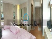 Dijual - Dijual Rugi Studio Furnished Apt Taman Anggrek Residence Tower Espiritu lantai tengah view City . a