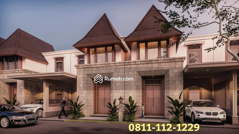 Rumah Mewah 2 Lantai Cinere Depok Gaya Bali Akses 5 menit ke pintu Tol Cinere #99418034