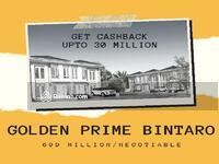 Dijual - Bintaro, Dijual Hunian Terlaris Golden Prime 5 Menit Menuju Stasiun Jurangmangu