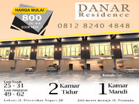 Dijual - Rumah dijual 2 lantai Danar Residence, Percetakan negara, Jakarta Pusat