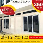 Rumah dijual di Jakarta Pusat harga 350 juta