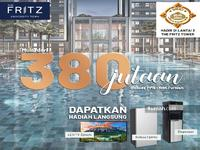 Dijual - The fritz tower serpong