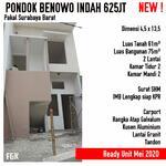 Rumah Pondok Benowo Indah Surabaya KPR/Nego/Siap Huni