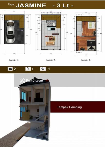 Dijual Rumah dalam Cluster Murah di Utan Kayu Strategis #99676386