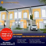 Rumah modern 2 lantai aryasatya premium malang
