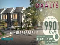 Dijual - Oxalis Metland Puri cluster baru mulai dari 990jt an