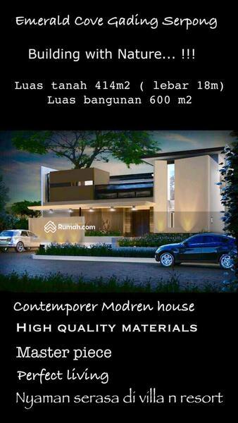Dijual Rumah Mewah Cluster Emerald Cove Gading Serpong #99978214