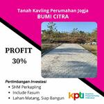 Tanah di Jogja, Profit 30% Pertahun: Terima SHM Perunit