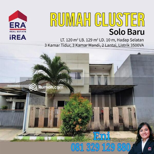 Rumah cluster Solobaru #100027550