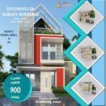 Rumah di jatibening pondok gede bebas banjir, 3 Lantai