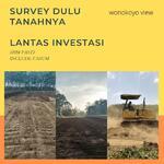 Investasi Untung, Tanah Kavling Wonokoyo Akses Strategis Harga Murah