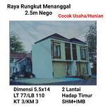 Rumah Raya Rungkut Menanggal cocok Usaha Toko Ruko dkt Merr Strategis