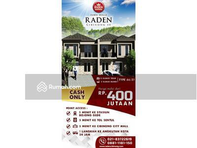 Dijual - TOWN HOUSE RADEN CIBINONG  BERNUANSA BALI