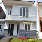 Rumah Siap Huni di Cluster Vanouver Kota Wisata