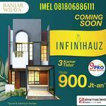 Rumah Millienial 900jt an Banjar Wijaya Sinarmas Perdana. Unit terbatas lokasi luar biasa