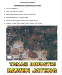 Tanah Industri Bawen Kab Semarang