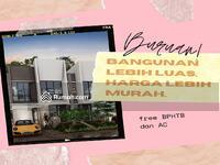 Dijual - Harga perdana. Rumah 2 Lantai hanya 400 juta. Untuk 5 pembeli pertama