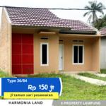 Rumah subsidi tanpa Dp di pesawaran