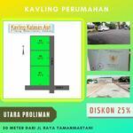 Jual Tanah Jogja Timur 50 Meter dari Jl Raya Utama