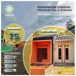 PROMO AKHIR TAHUN DISKON 75Jt | Cluster Muslim Dekat Stasiun Depok Lama dan Pintu Tol Sawangan, SHM