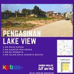 Kapling SHM Strategis  Pengasinan Lake View Bisa Angsur 12 X Tanpa Bunga