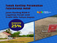 Dijual - Tanah dijual Bogor kawasan Tajurhalang