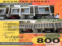 Dijual - DIJUAL RUMAH MEWAH MODERN DI GUNUNG SAHARI JAKARTA PUSAT
