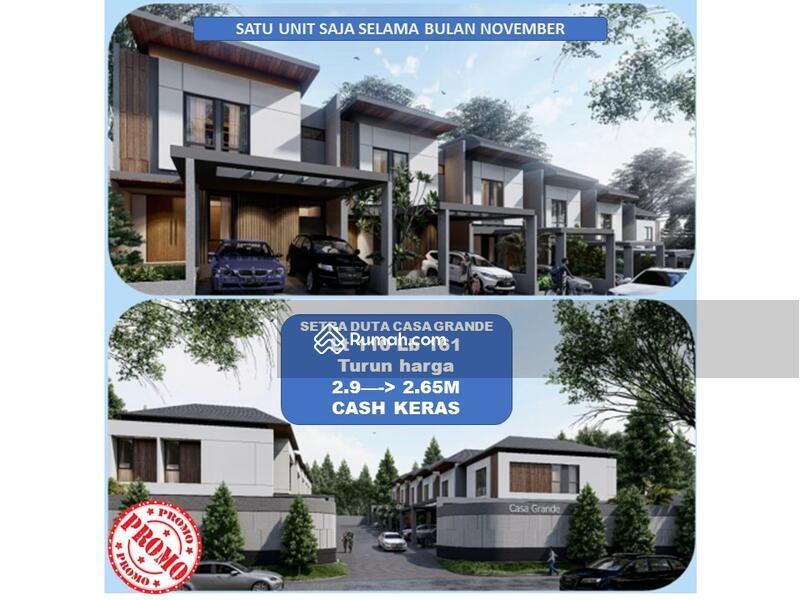 TURUN HARGA! HARGA COVID! Setra Duta cluster baru Smart Home 2,7M #101309994