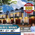 Rumah Murah di Kayu Manis Pramuka Jakarta Timur Pusat Jakarta , Harga Apartemen