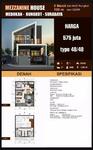 Dijual rumah minimalis 2 lantai 500juta-an medokan, rungkut, surabaya