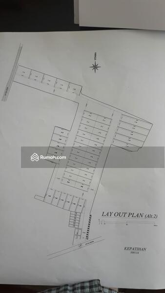 Tanah murah nol jalan Kepatihan cocok untuk pabrik atau komplek gudang #101392812