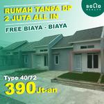 Miliki Rumah siap huni bebas banjir di Bogor dekat stasiun, cukup 2 juta all in