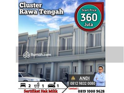 Dijual - Rumah Murah di Pangkalan Asem Rawa Tengah Jakarta Pusat , Strategis Harga Apartemen