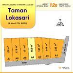 Tanah Kavling Taman Lokasari Dekat Bogor Kota, Harga 1 Jt-an/m2