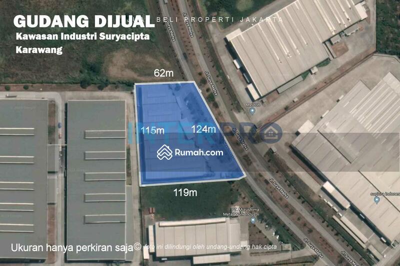 Disewakan Gudang Warehouse Kawasan Industri Suryacipta Karawang Barat - Gudang 5 #101406990