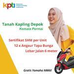 Tanah Kavling Depok, Dekat Stasiun Citayam, Bonus Motor Nmax