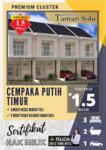 Dijual Rumah Mewah Cantik di Cempaka Putih Timur, Jakarta Pusat
