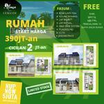 Hot Promo Rumah 390 Juta an di ALANA CEMANDI TAHAP 3