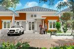 Rumah cantik dan asri bernuansa islami di panam